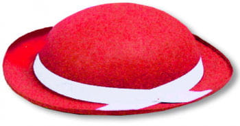Tyrolean Felt Hat Red