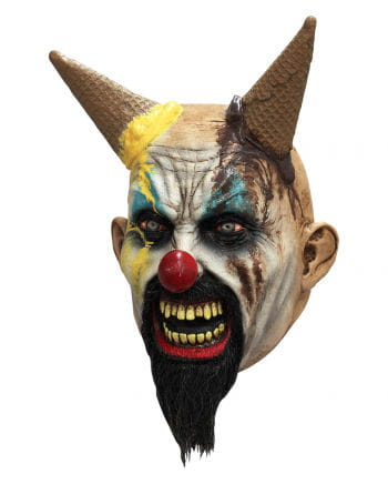 Horror Clown Maske Eiscreme