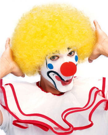 Clown wig yellow