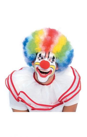 Clownperücke Multicolor