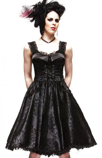 Corsets dress in Lolita style Romatik Black XS / 34