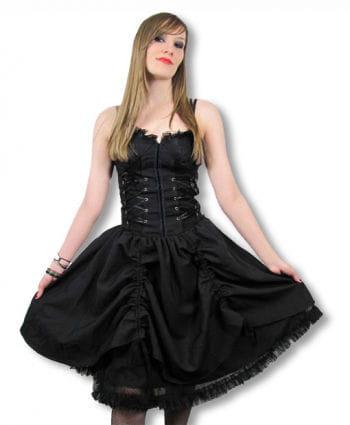 Gothic Kleid mit Corsagentop Medium