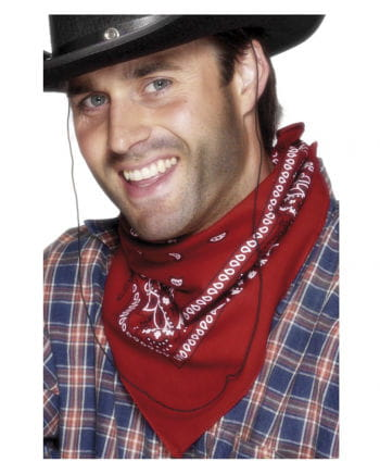 Cowboy red neckerchief