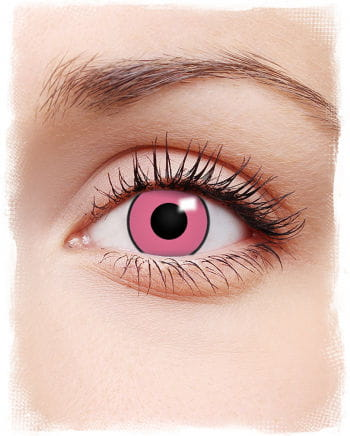 Crazy Pink Contact Lenses