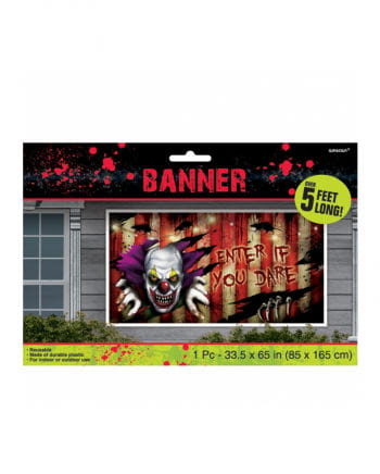 Creepy Clown Banner