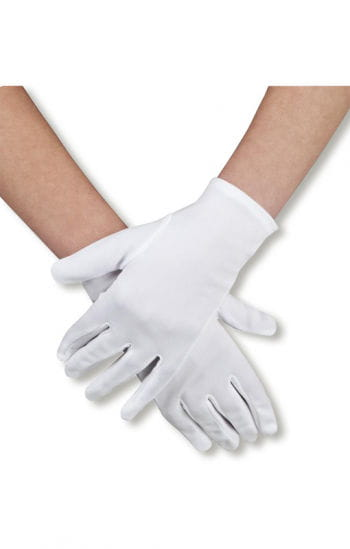 Ladies gloves white