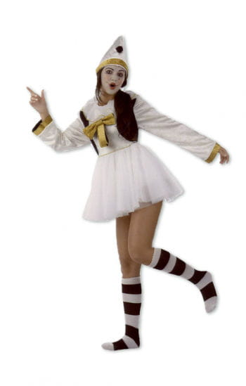 Ladies Harlequin costume three-piece