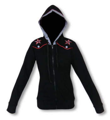 Ladies hooded jacket in Rockabilly Style