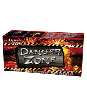 Danger Zone Battery Fireworks 112 shot