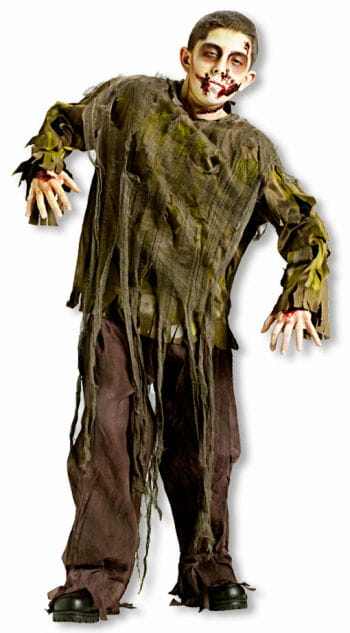 Dark Zombie Child Costume