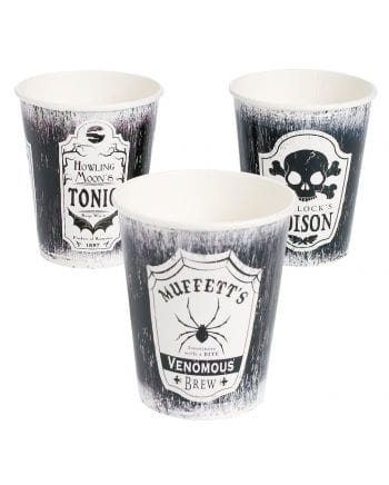 Darkness paper cups 8 St.