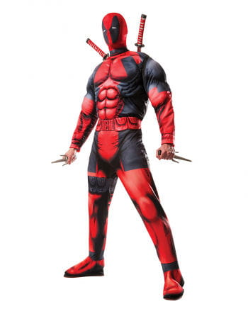 Dead Pool Deluxe Costumes