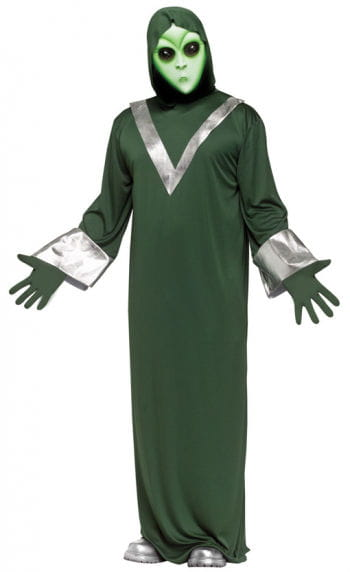 Deep Space Alien costume