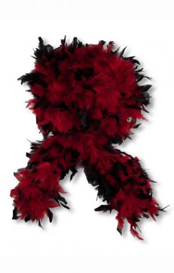 Deluxe Boa black red