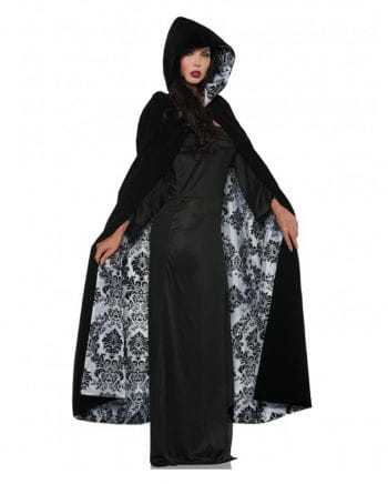 Deluxe Velvet and Satin Cape