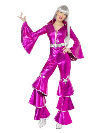 Disco Queen Costume pink S / German size 36