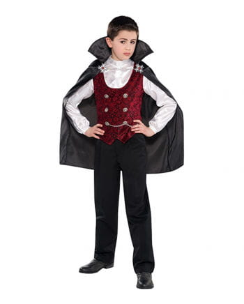 Gloomy Vampire Child Costume