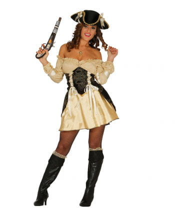 Noble pirate costume for women