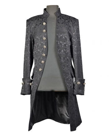 Gothic Brocade jacket for men black