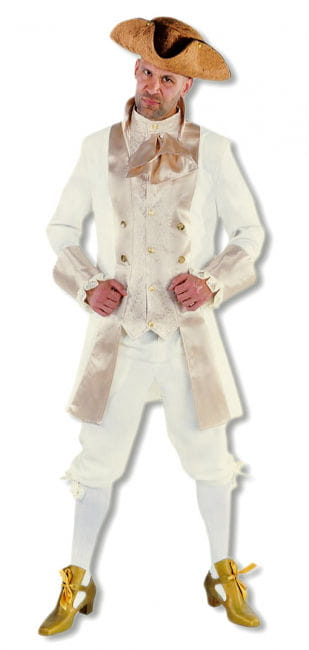 Noble Renaissance Costume Men Beige
