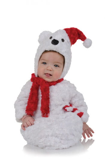 Polar Bear Plush Baby Costume