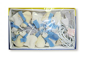 Polar Bear Fairy Lights 4 m