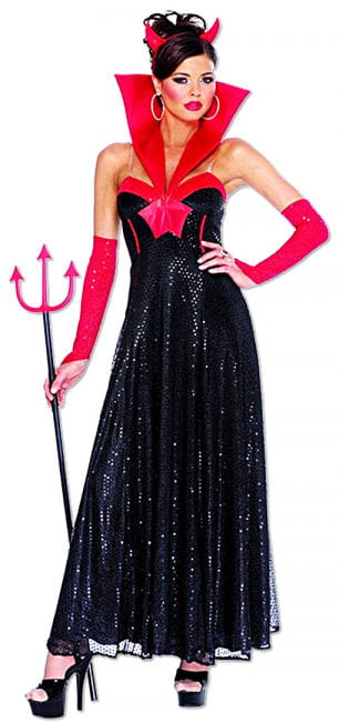 Elegant Devil Costume
