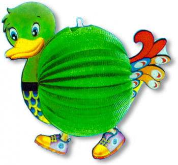 Duckie Paper Lantern for Kids