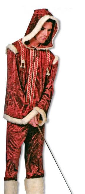 Eskimo Man Costume XXL