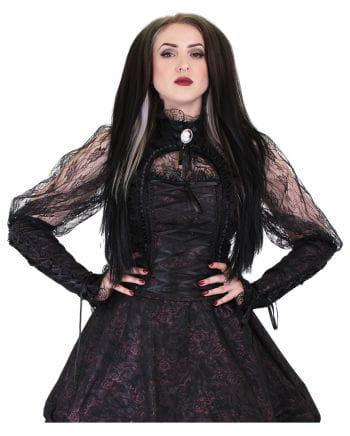 Gothic lace blouse Esme