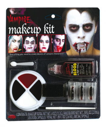 Family Vampire Make Up Set