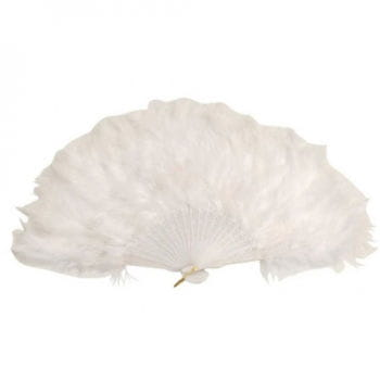Feather Fan White XXL