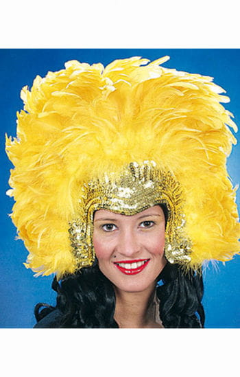 Feather headdress Samba