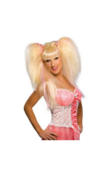 Fairy Wig Lilith Blond/Pink