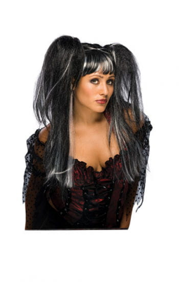 Fairy Wig Lilith Black/White