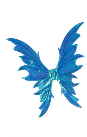Fairy Wings Deluxe blue shimmering