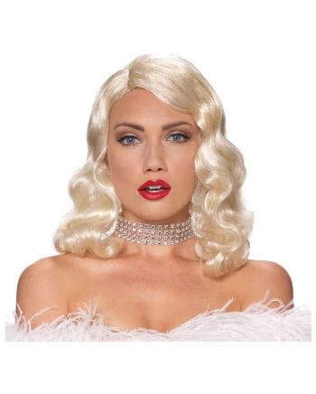 Femme Fatale Perücke Blond