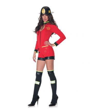 Firemen Ladies Costume with helmet