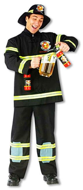 Feuerwehrmann Kostüm Durstlöscher XL