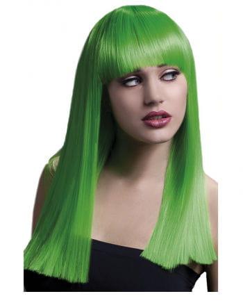 Damen Perücke Alexia Neongrün