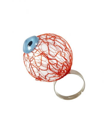 Finger ring with eyeball