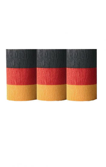 Germany Flag Crepe