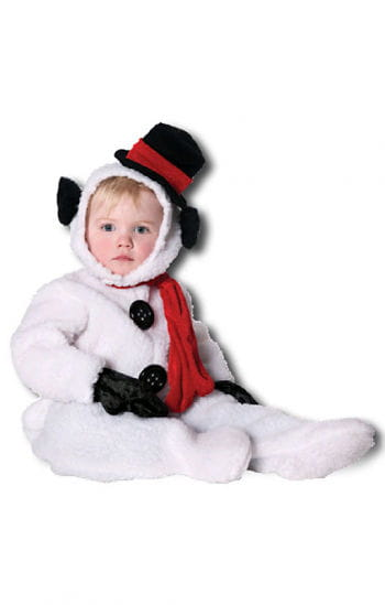 Fluffy Snowman Kids Costume. M