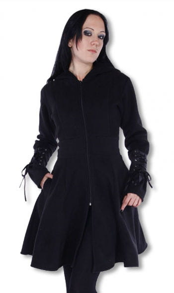 Gothic Lady Fleece Coat Small