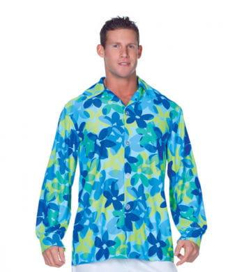 Flower Shirt Blue