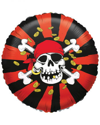 Folienballon Jolly Roger