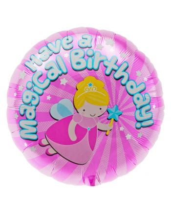 Foil balloon Magical Fairy Birthday