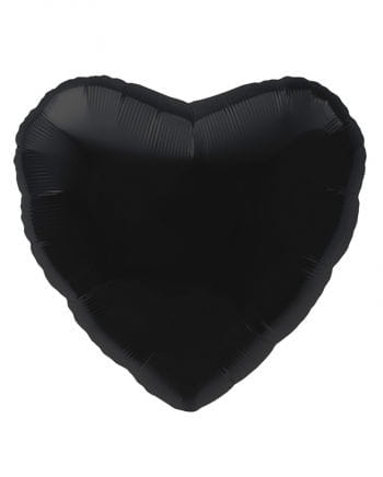 Black Heart Foil Balloon