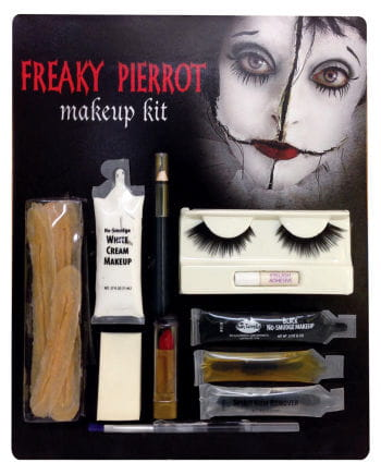 Freaky Pierrot Make-up Set