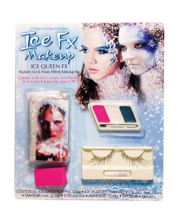 Frozen Ice Prinzessin Make Up Set mit Wimpern